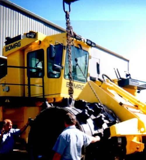 Terra Compactor Wheels : Vnr equipment products